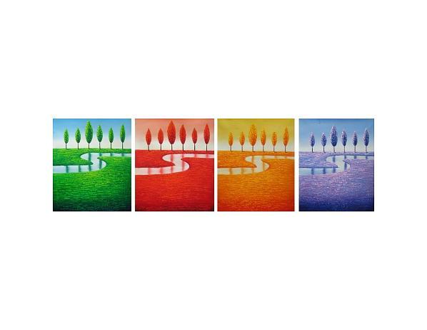 Obrazový set – Čtyři roční období