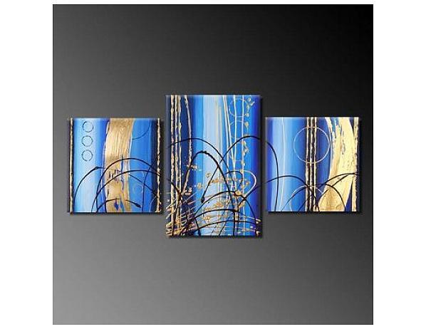 Obrazový set – Modro
