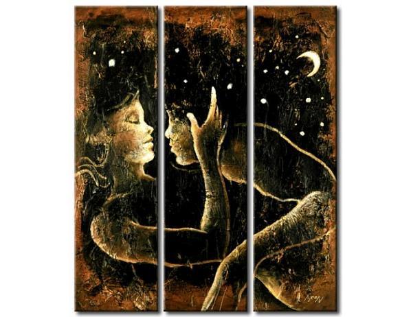 Obrazový set – Noční políbení