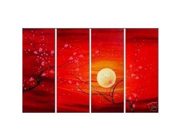 Obrazový set – Růdý západ slunce