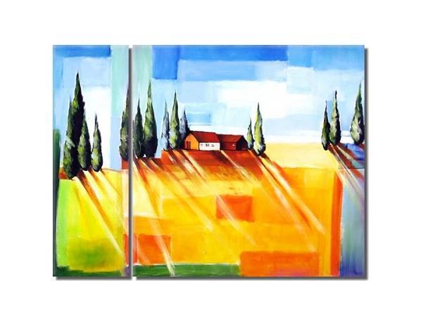 Obrazový set – Veselá krajina