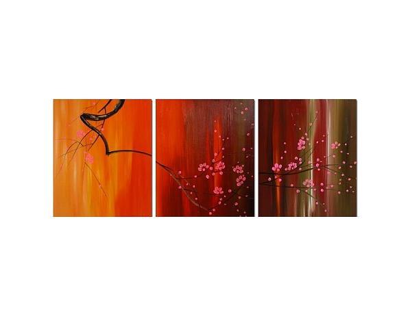 Obrazový set – Větev v ohni