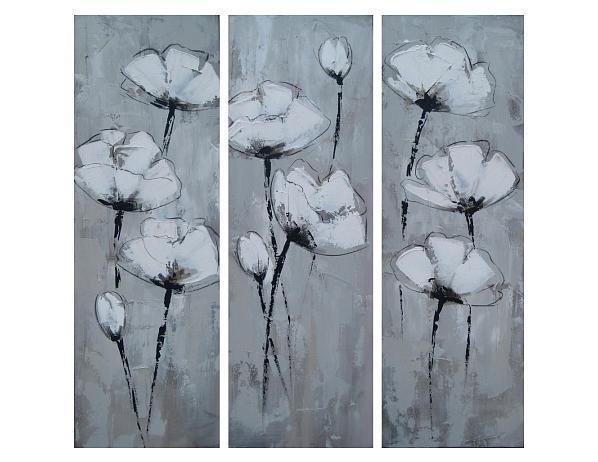 Obrazový set – Vysoké květy
