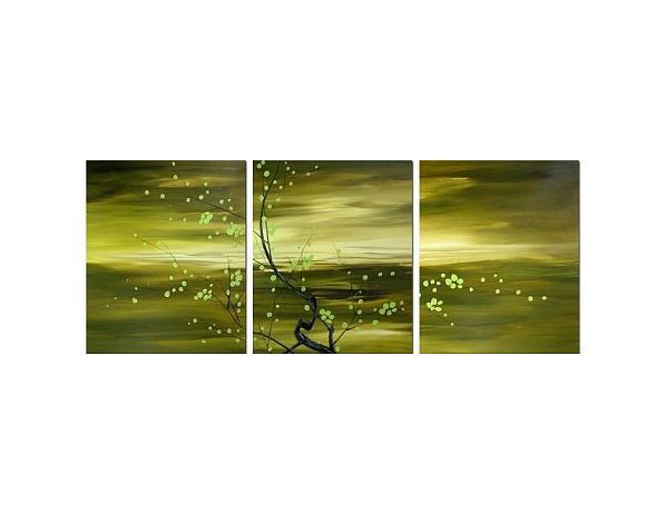 Obrazový set – Zelené mámení