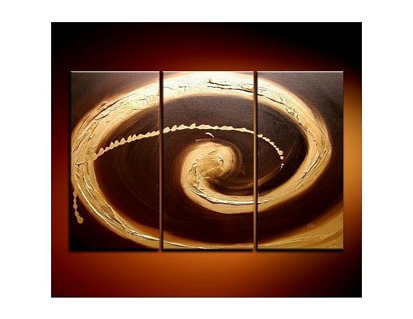 Obrazový set – Zlaté kruhy