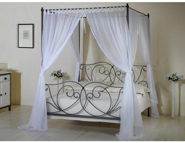 Odnímatelná nebesa ke kovaným postelím