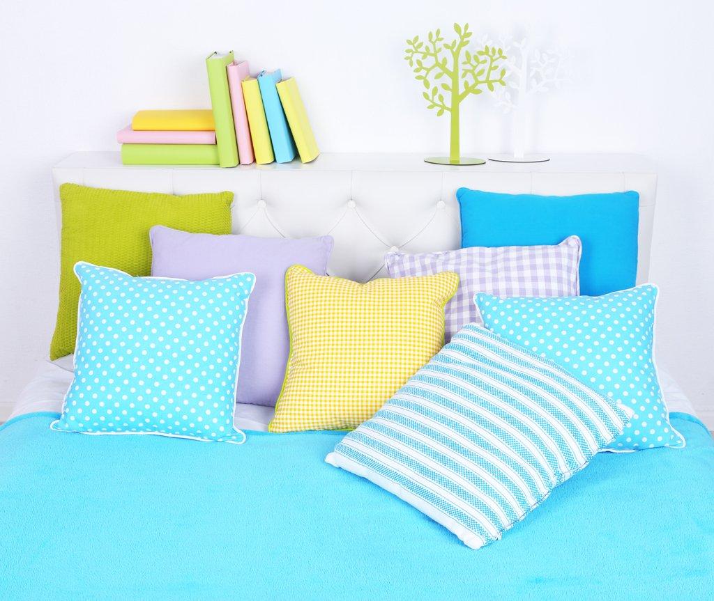 Ložnice plná barev
