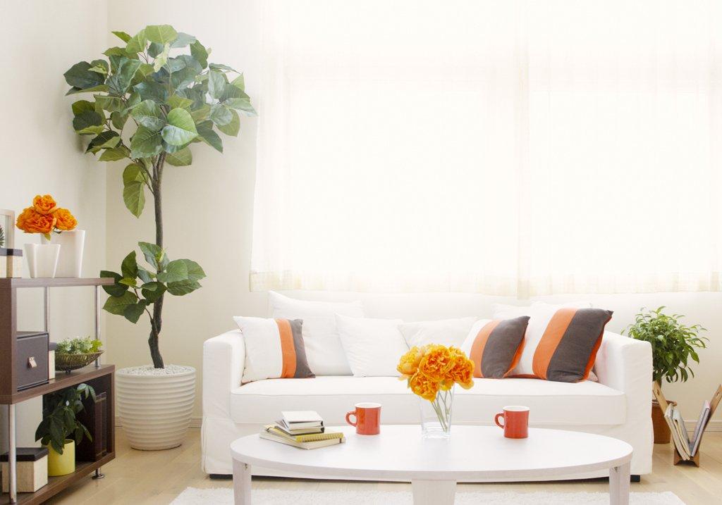 Obývák v rozkvetlém stylu