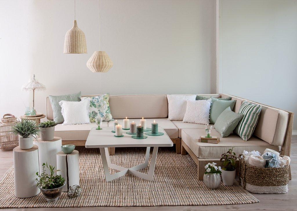 Romantický obývák