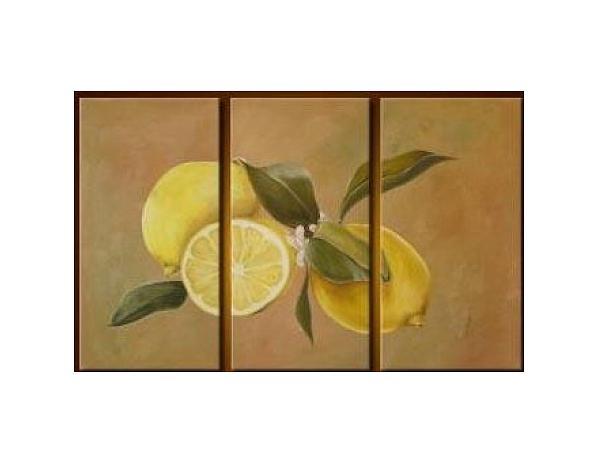 Vícedílné obrazy – Citrony