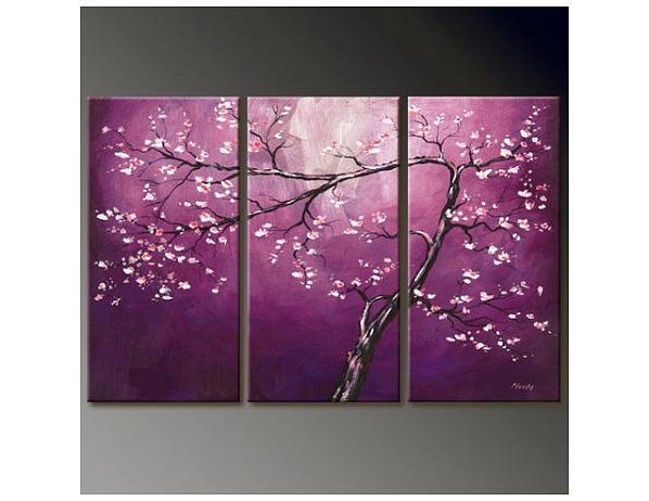 Vícedílné obrazy – Jarní strom