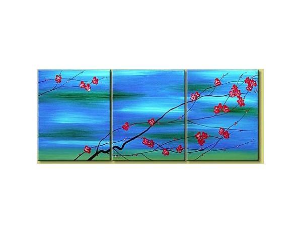 Obrazový set – Modré mámení