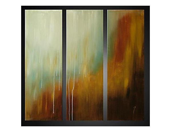 Vícedílné obrazy – Okno v dešti