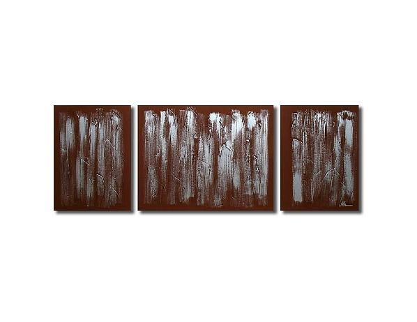 Vícedílné obrazy – Stříbrný déšť