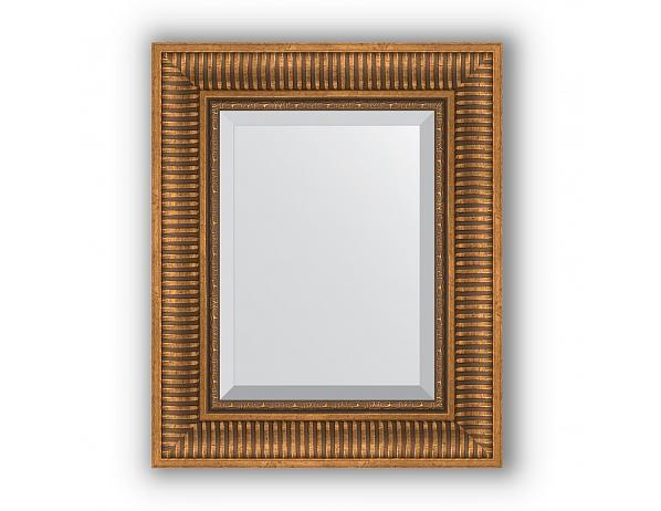 Zrcadlo s fazetou v rámu, bronzový akvadukt