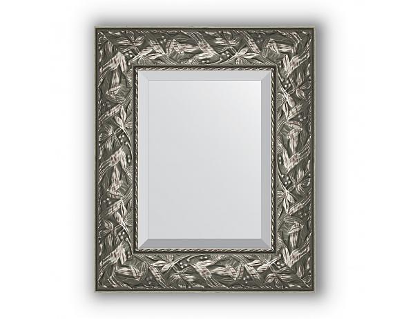 Zrcadlo s fazetou ve stříbrném rámu, byzantský ornament