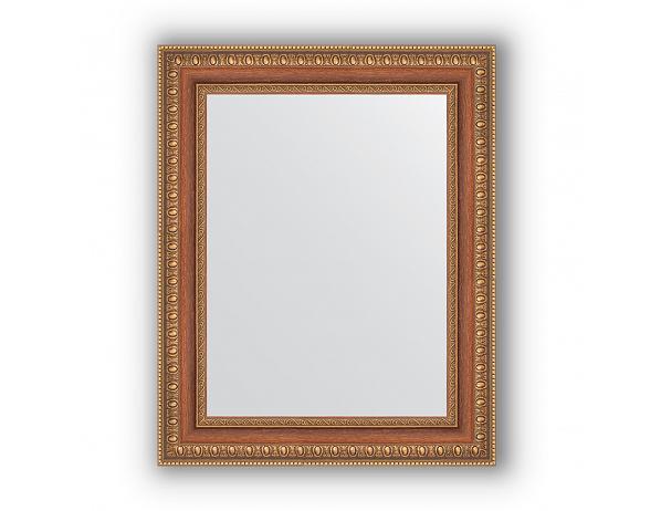 Zrcadlo v rámu, bronzová vintage dekorace