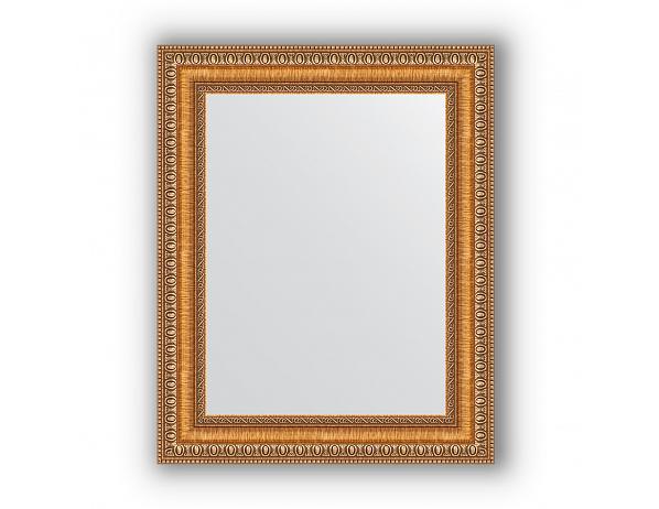 Zrcadlo v rámu, bronz se zlatou vintage dekorací