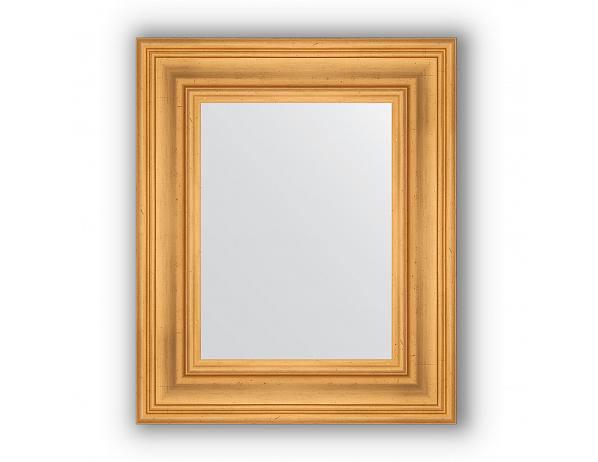 Zrcadlo v rámu, leptané zlato