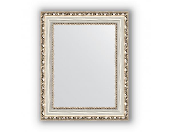 Zrcadlo v rámu, stříbrný versailleský ornament