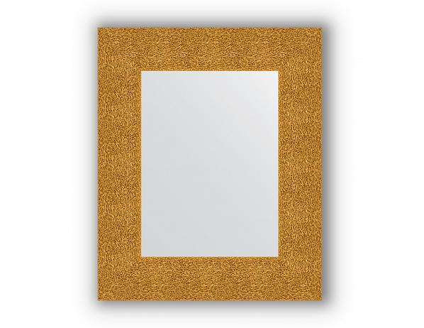 Zrcadlo v rámu, zlatý tepaný reliéf