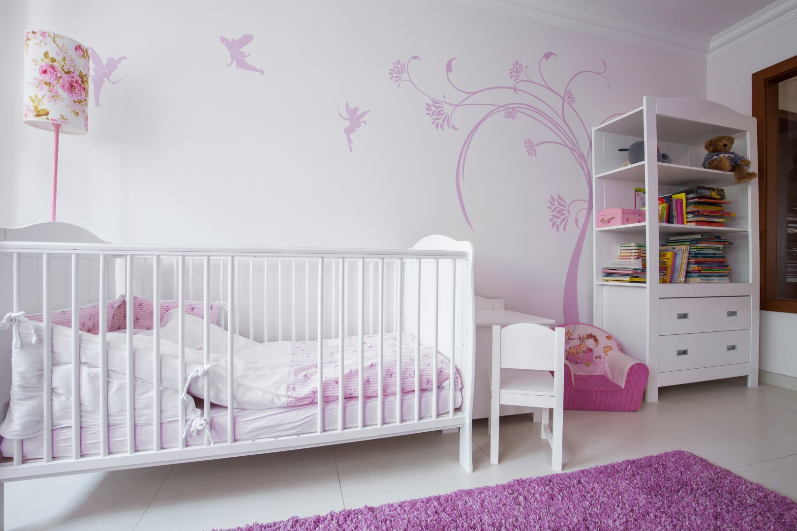 Pokojík pro malou holčičku