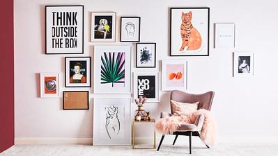 Dekorujeme zdi – 4 tipy Marty Suchodolské
